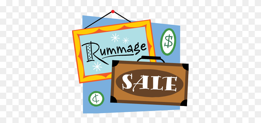 Rummage Sale Wkhm - Rummage Clipart