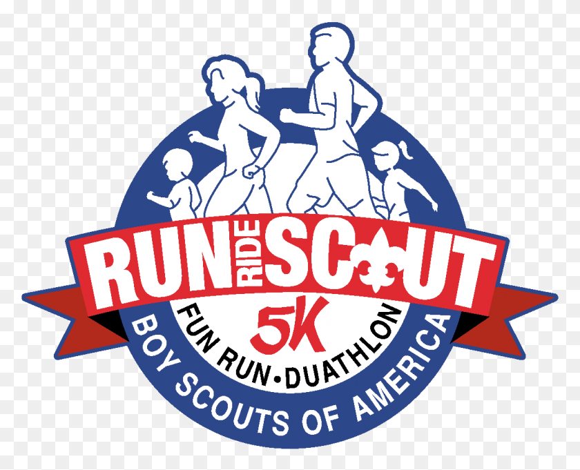 Run Ride Scout Mobile Area Council - Cub Scout Logo Clip Art
