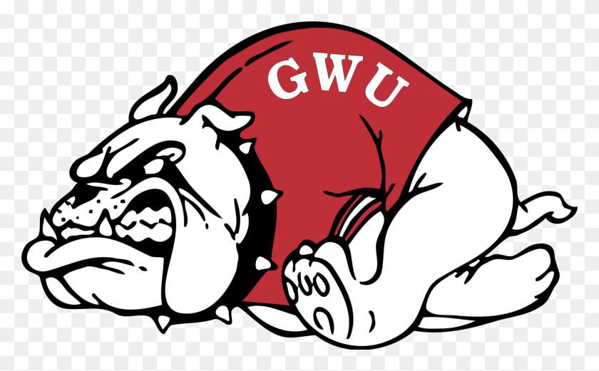 Runnin' Bulldogs - Bulldog Mascot Clipart