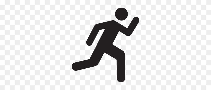 Running Clip Art - Men Running Clipart