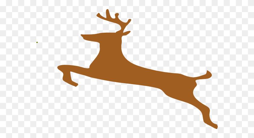 Running Deer Clipart Clip Art Images - Whitetail Deer Clipart