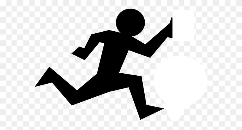 Running Man Clip Art - Running Man Clipart