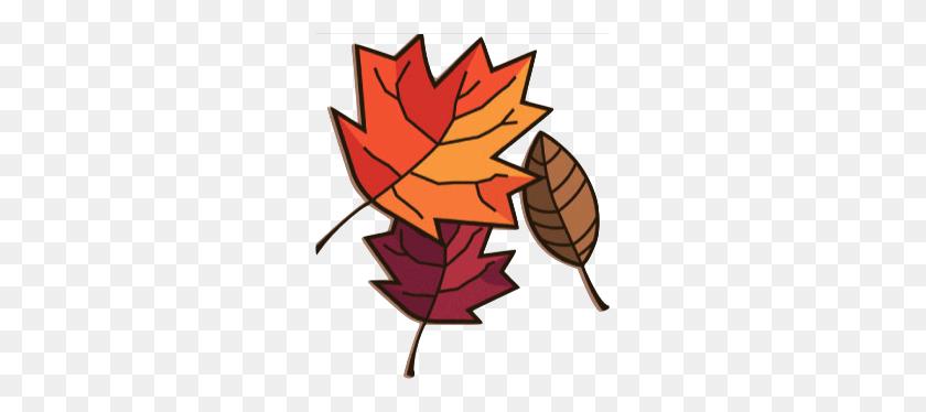 267x314 Rustic Autumn Leaves Clip Art Rustic Autumn Leaves Image - Autumn Border Clipart