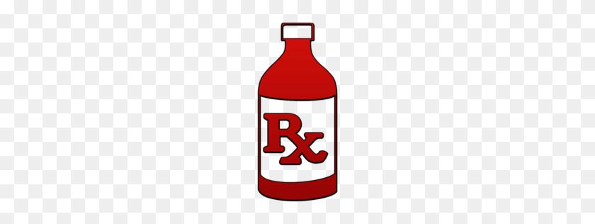 256x256 Rx Liquid Prescription Bottle Clipart Image - Rx Bottle Clipart