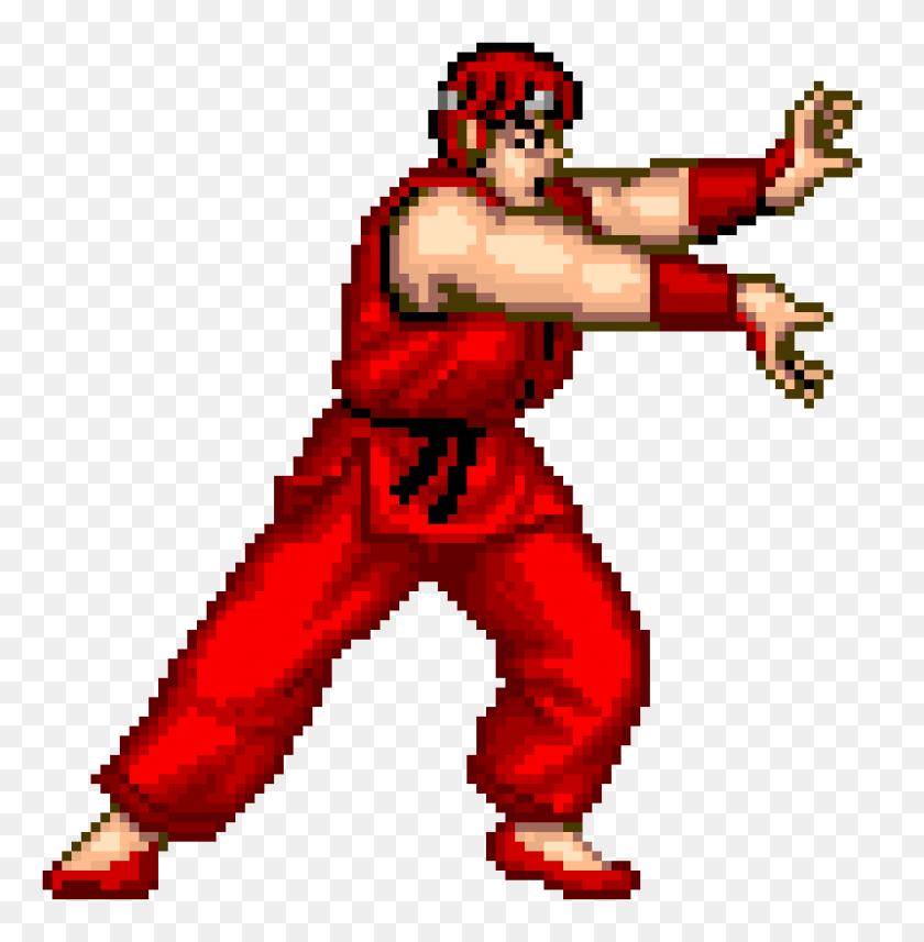 4450x4550 Ryu R Pixel Art Maker - Ryu PNG