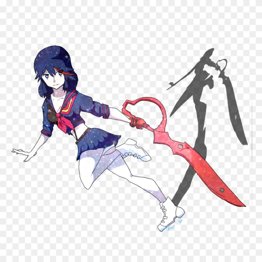894x894 Ryuko Matoi Kill La Kill - Ryuko Matoi PNG