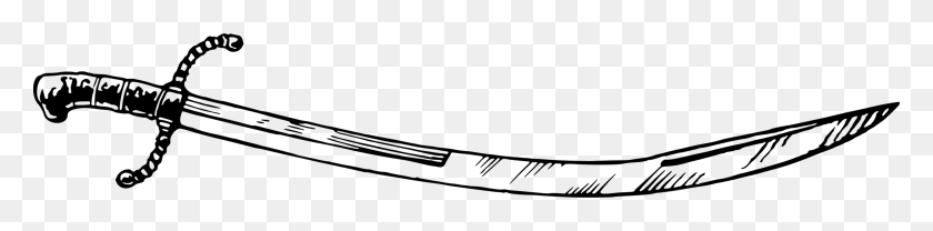 3930x750 Sabre Sword Drawing Computer Icons Weapon - Saber Clipart