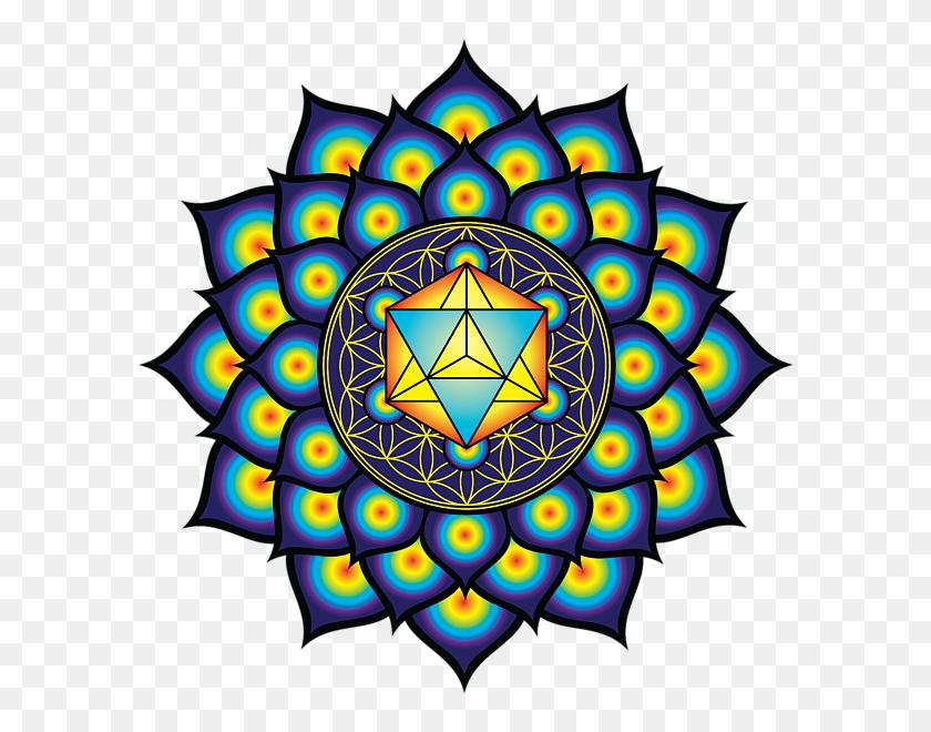 600x600 Sacred Geometries Flower - Flower Of Life PNG