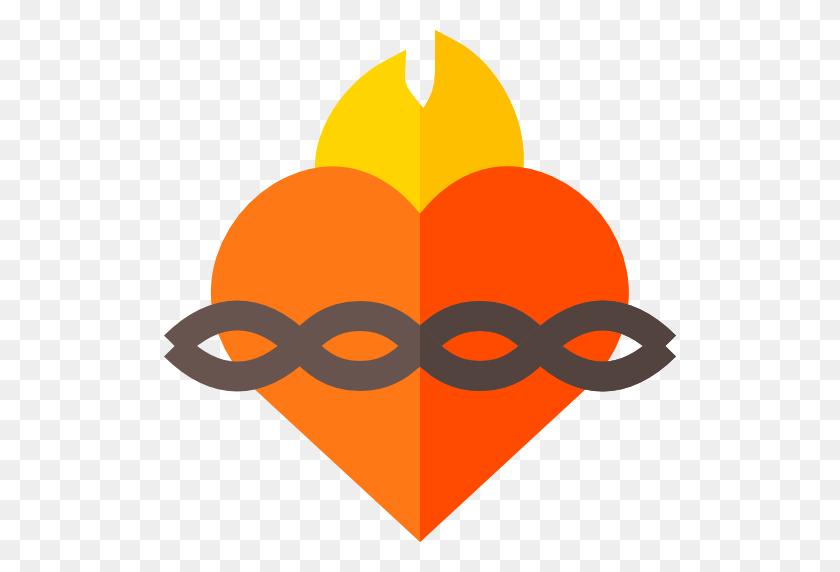 512x512 Sacred Heart - Sacred Heart Of Jesus Clip Art