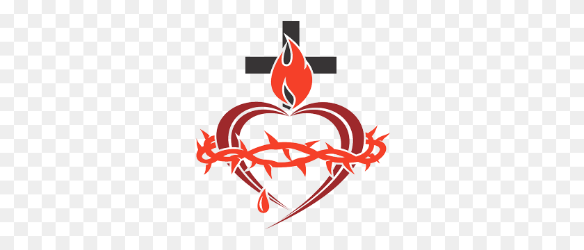 300x300 Sacred Heart Enthronement Network Enthrone Your Home, School - Sacred Heart Clip Art