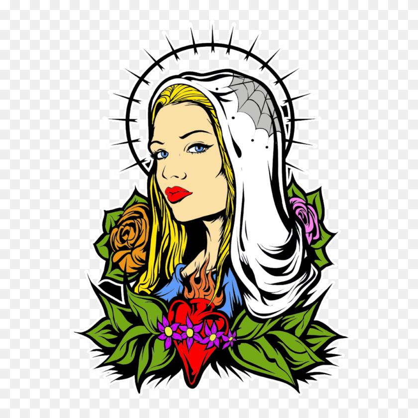 1000x1000 Sacred Heart Gwear Co - Sacred Heart Of Jesus Clip Art