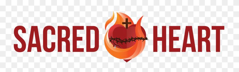 2500x622 Sacred Heart Of Jesus - Sacred Heart Clip Art
