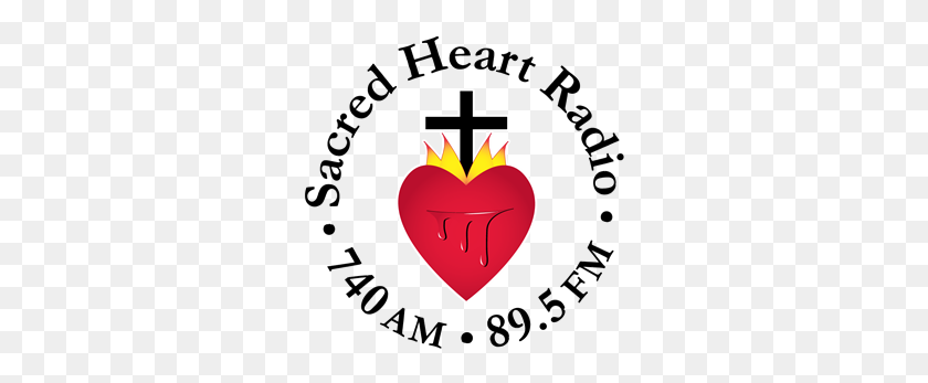 300x287 Sacred Heart Radio, Wnop Am, Newport, Ky Free Internet Radio - Sacred Heart Clip Art