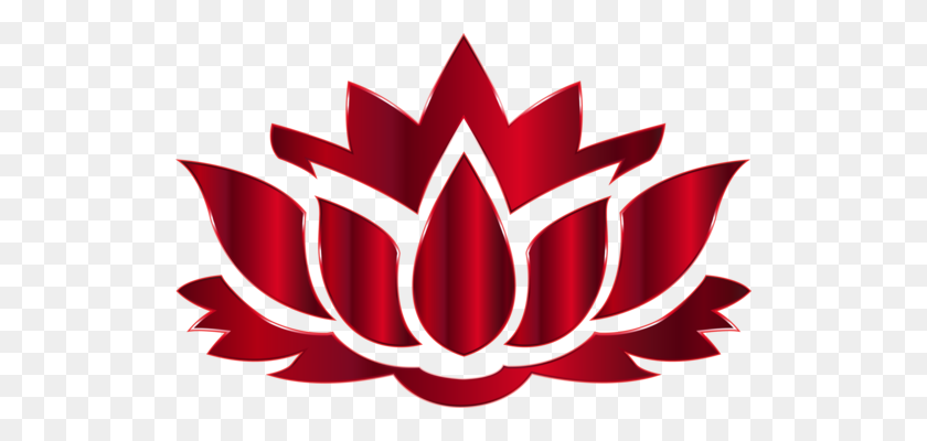 522x340 Sacred Lotus Flower Silhouette Egyptian Lotus - Lotus Flower PNG