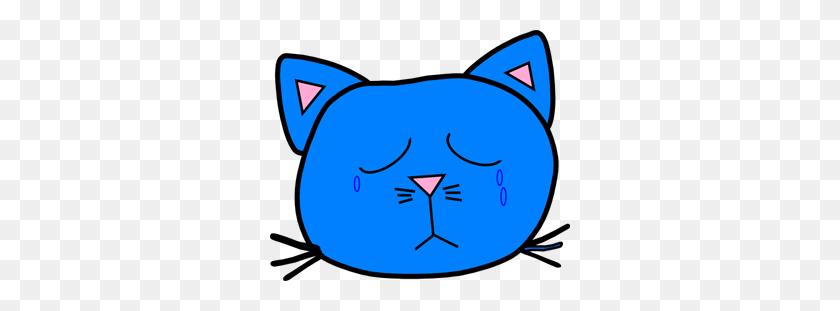 Sad Blue Png, Clip Art For Web - Sad Clipart