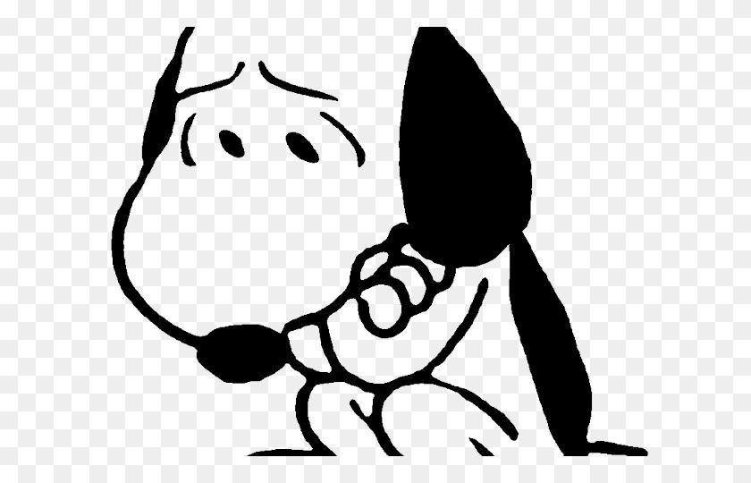 Sad Clipart - Snoopy Clip Art Free