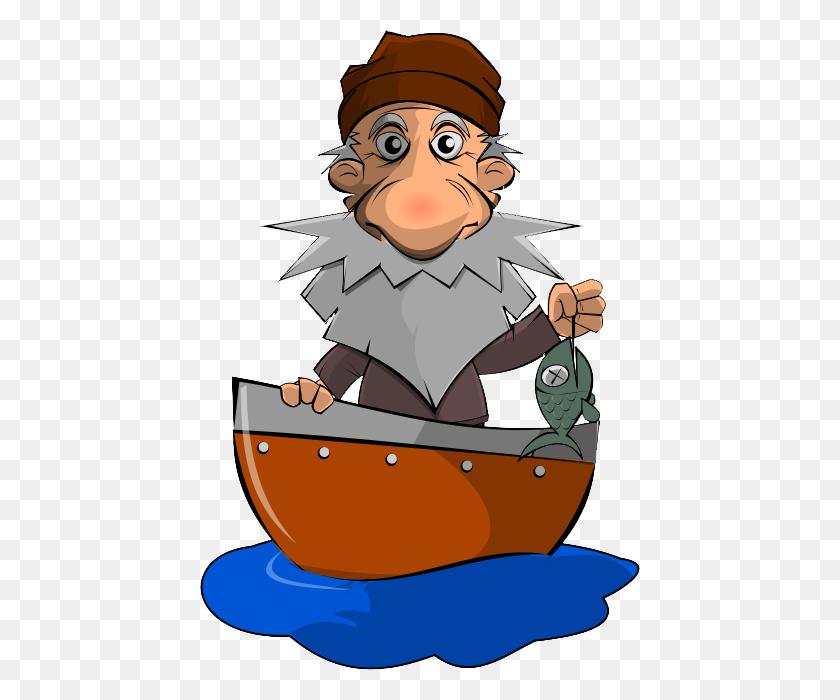 Sad Clipart Fisherman - Fisherman Clipart