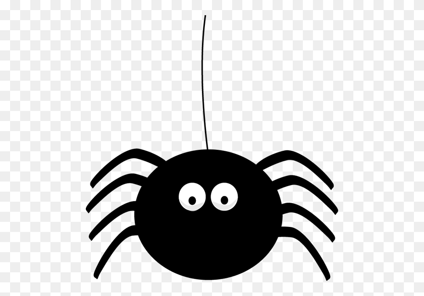 500x527 Sad Clipart Spider - Sad Clipart Black And White