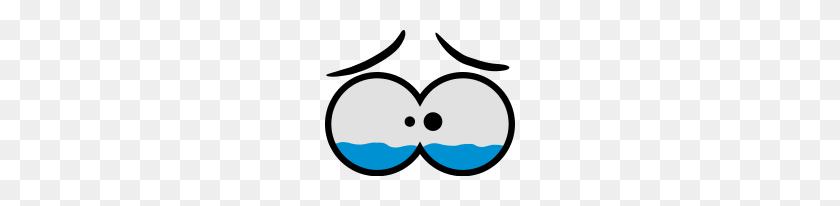190x146 Sad Crying Comic Eyes - Sad Eyes PNG