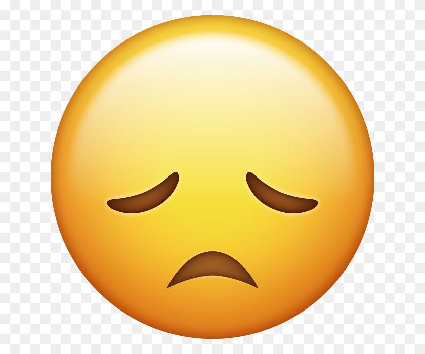 640x640 Sad Emoji - Sad Emoji PNG