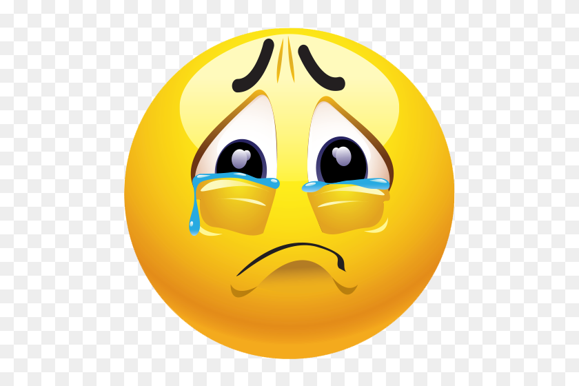 Sad Emoji Clipart, Explore Pictures - Sad Smiley Face Clip Art