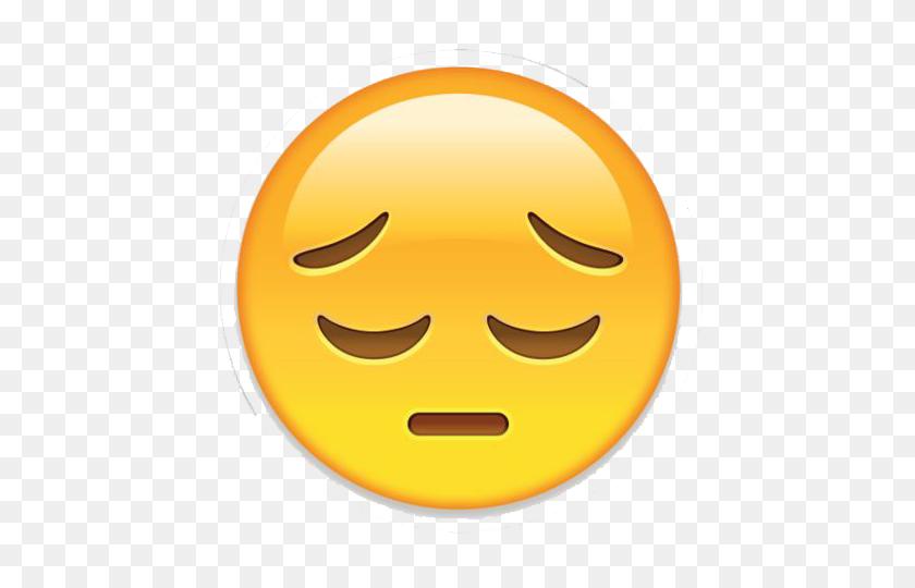480x480 Sad Emoji Png Transparent Image - Sad Emoji PNG