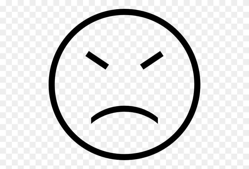 512x512 Sad, Emoticon, Face, Stroke, With, Closed, Eyes Icon Free - Sad Eyes PNG
