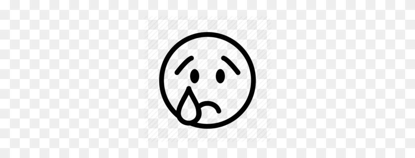 260x260 Sad Emotions Spanish Clipart - Free Emoticons Clipart