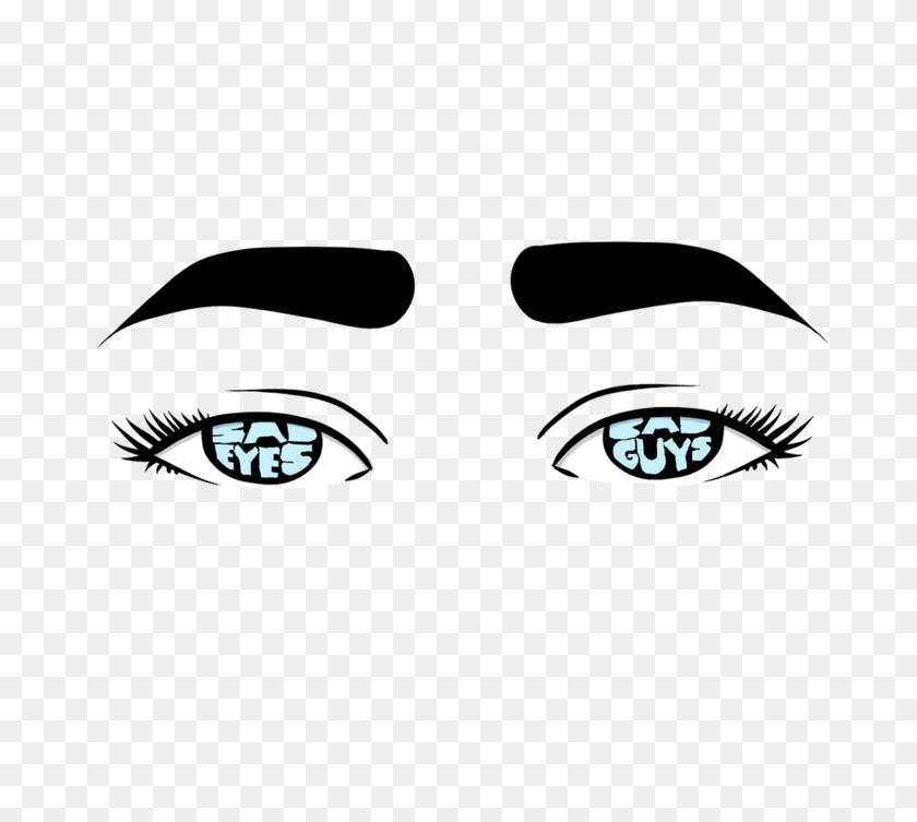750x693 Sad Eyes, Bad Guys Shared - Sad Eyes PNG
