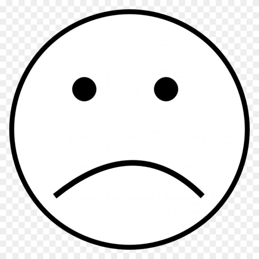 Sad Face Black And White Elephant Clipart House Clipart Online - Sad Face Clipart Transparent