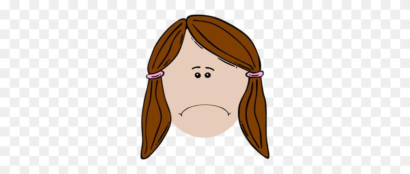 264x297 Sad Face Clip Art - Sad Boy Clipart