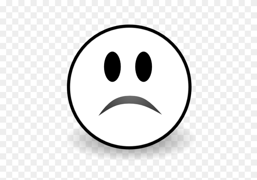 527x527 Sad Face Frowny Clipart Cliparts For You Clipartcow Clipartix - Cow Face Clipart Black And White