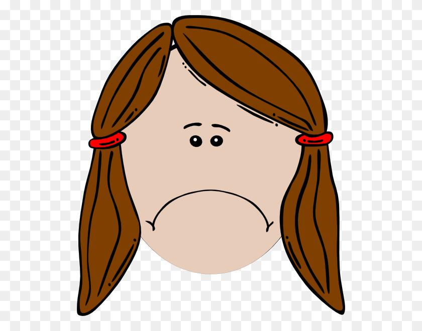 534x600 Sad Girl Clip Art - Sad Eyes Clipart