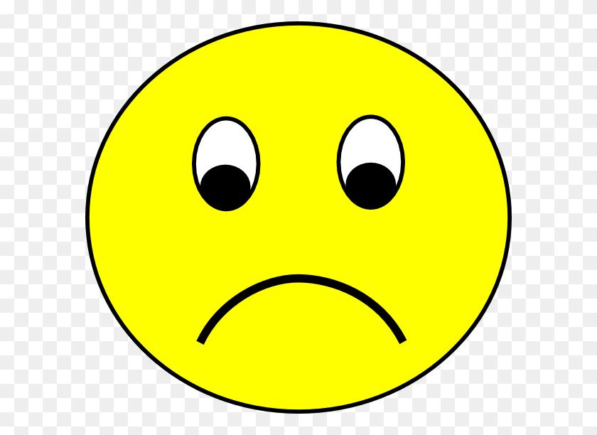 Sad Smiley Clip Art - Sad Smiley Face Clip Art