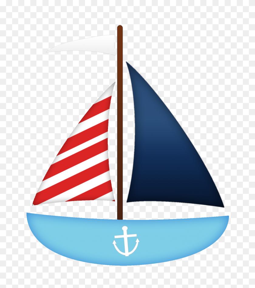 Sail Boat Nautical Clipart Nautical, Nautical Baby - Sail Boat PNG