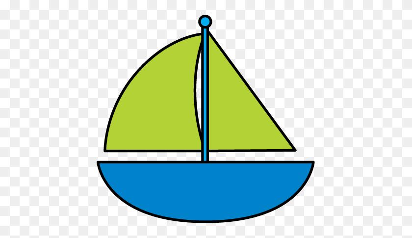 Sailing Boat Clipart Border - Nautical Border Clip Art