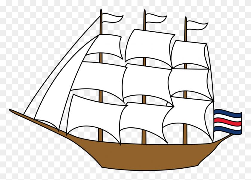 Sailing Ship Sailboat Tall Ship - Sailing Ship Clip Art