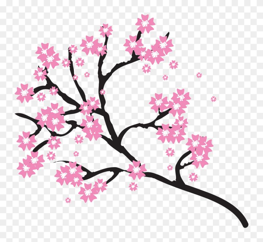 1000x913 Sakura Blossom Clipart Pdf - Pdf Clipart
