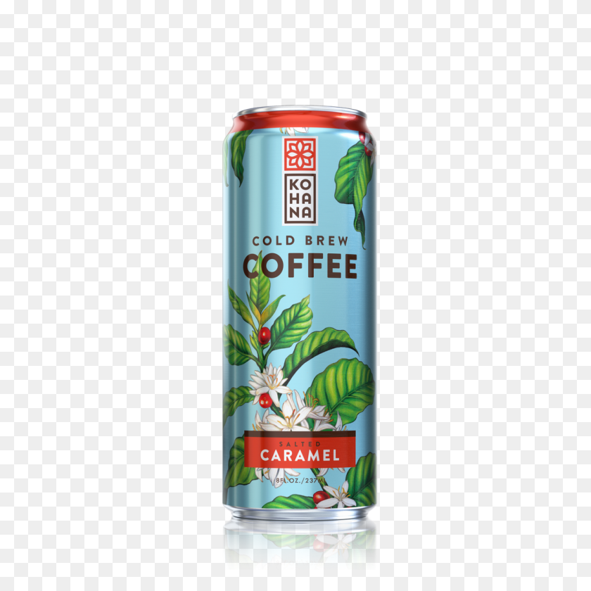 Salted Caramel Cold Brew Coffee Kohana Coffee - Caramel PNG