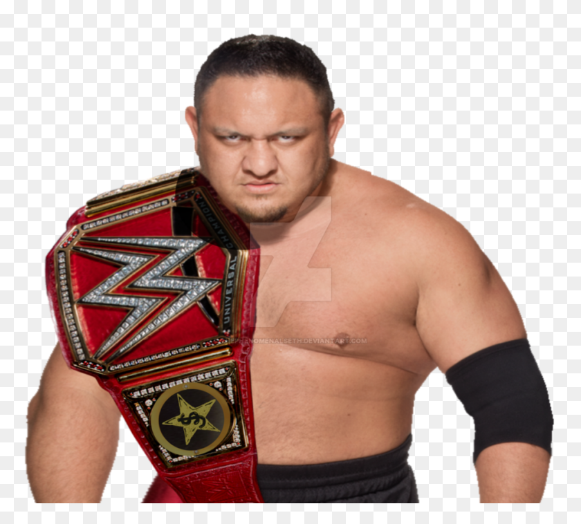 Samoa Joe Wwe Universal Champion - Samoa Joe PNG