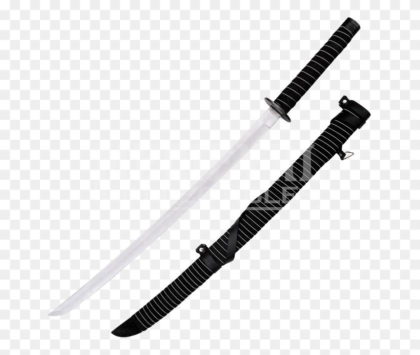 Samurai Katana With Sheath - Samurai Sword PNG