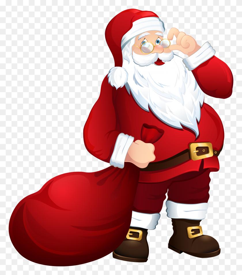Santa Claus Png Images Free Download, Santa Claus Png - Santa Suit Clipart