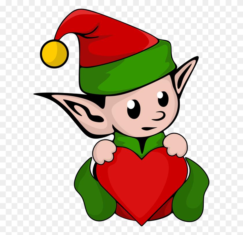 Santa Claus The Elf On The Shelf Christmas Elf Computer Icons Free - Shelf Clipart