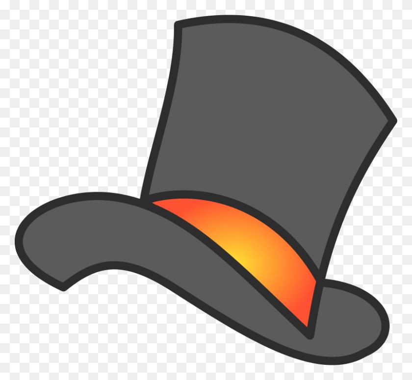 Santa Hat Clip Art - Top Hat Clipart