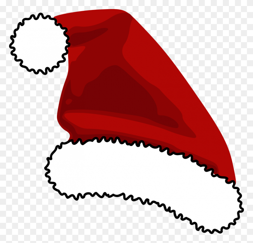 Santa Hat Clipart Christmas Clip Art Santa - Santa Belt Clipart