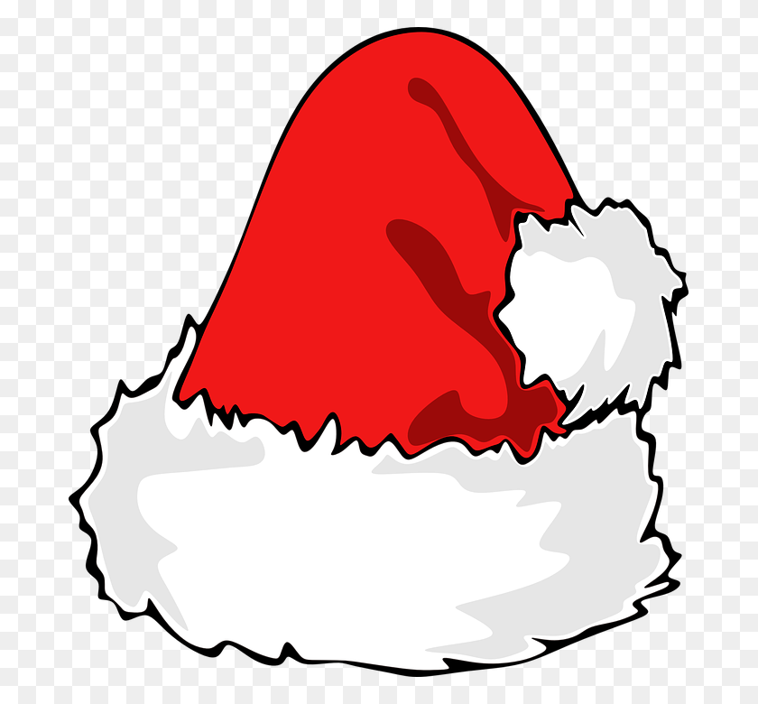 Santa Hat Clipart Desktop Backgrounds - The Cat In The Hat Clipart