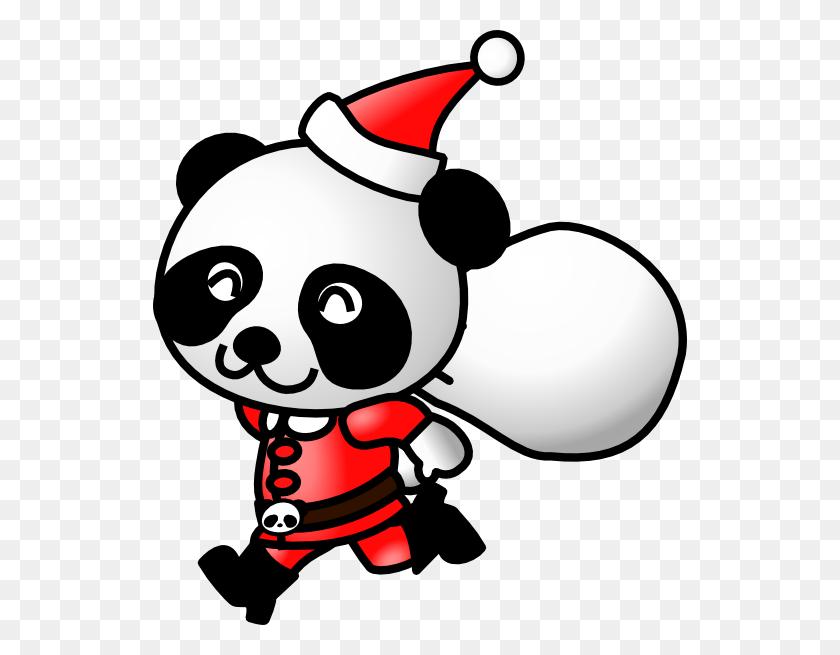 Santa Pandas Clipart Santa Pandas Clip Art Images - Santa Sleigh Clipart