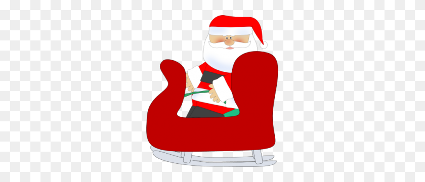 Santa Sleigh Clipart Santa Sleigh Clip Art Santa Sleigh Image - Santa Sleigh Clipart