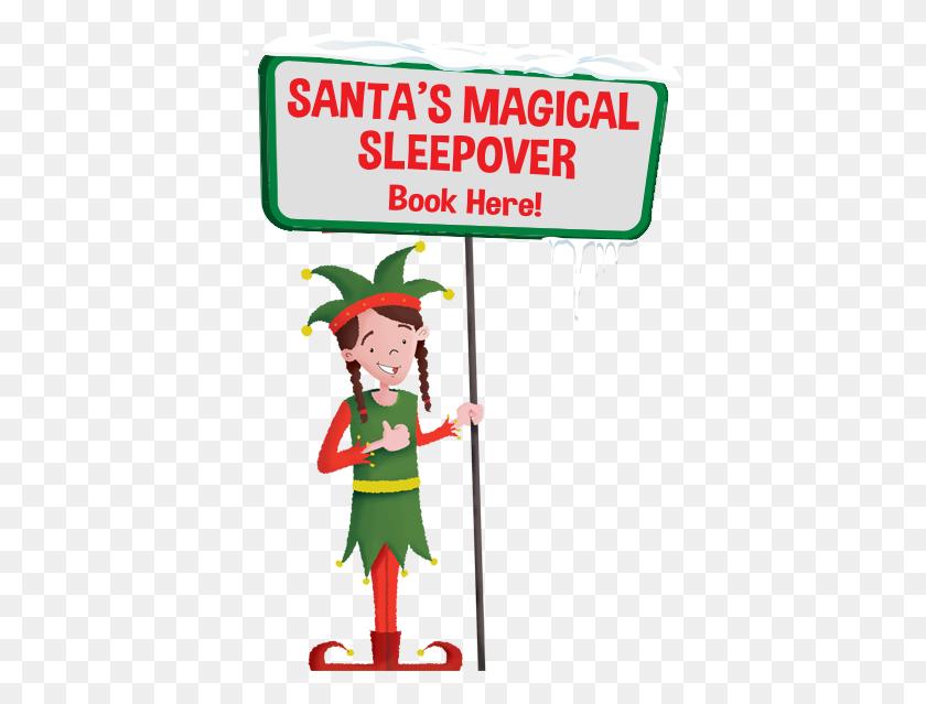 Santas Magical Sleep Over - Magic Tree House Clipart