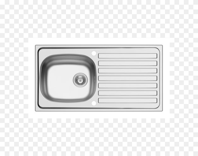 Sapphire, Kitchens, Fitted Kitchens Sink Pack Stainless - Kitchen Sink PNG